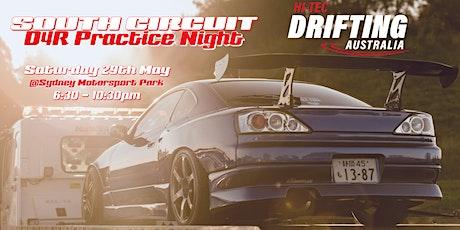 Hi-Tec Drift Australia Saturday Night South Circuit - D4R Practice Event tickets