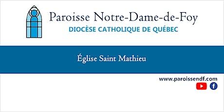 Messe Église St-Mathieu (en espagnol) - Dimanche - 17h billets
