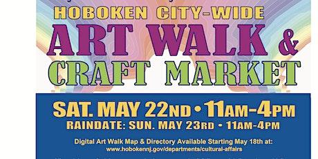 Hoboken Citywide Art Walk & Craft Market tickets