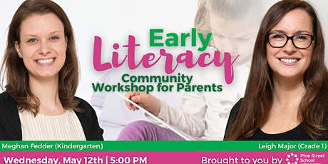 Early Literacy Community Workshop for Parents tickets
