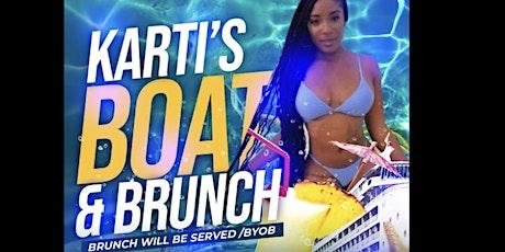 Karti's Boat & Brunch tickets