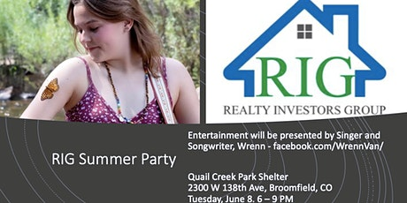 RIG Annual Summer Party tickets