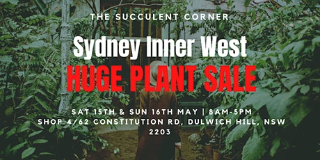 Sydney Inner West HUGE PLANT SALE tickets
