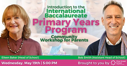 IB Primary Years Program Community Workshop for Parents tickets