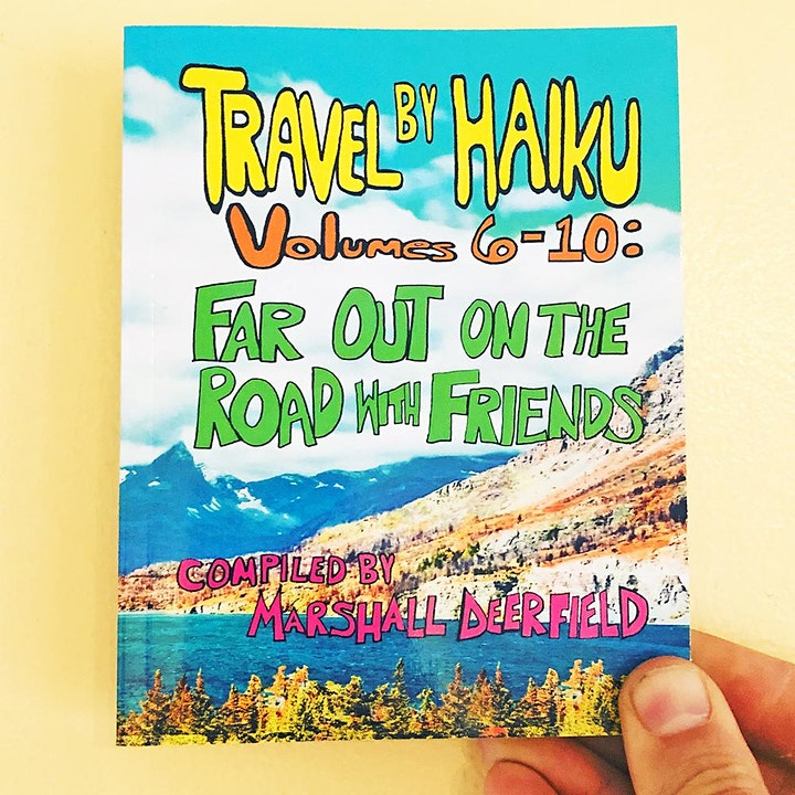 Travel By Haiku - Online Release Party at Tomorrow Today Bookstore image
