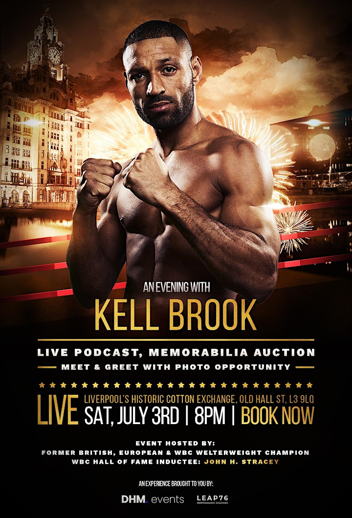 An Evening with Kell Brook image