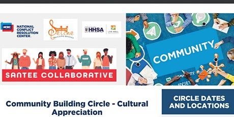 Community Building Circle - Cultural Appreciation tickets