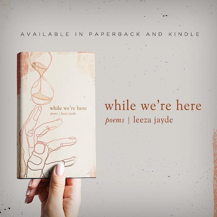 Book Talk Tuesday: Leeza von Alpen 'While We're Here' image