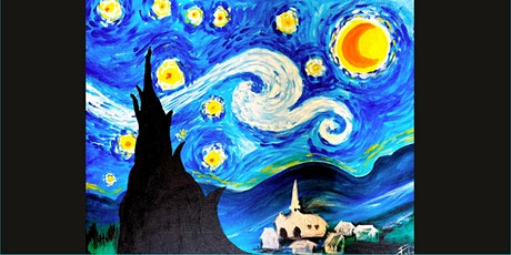 Paint and Sip Event - Recreating Van Gogh's Starry Night tickets