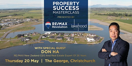 Property Success Masterclass with Don Ha & Lake Hood tickets