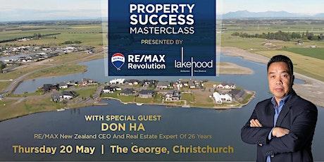 Property Success Masterclass with Don Ha & Lake Hood tickets