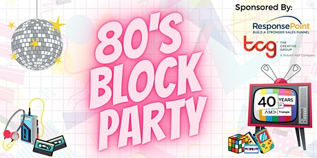 Virtual 80's Block Party! tickets