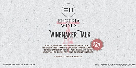 Winemaker talk - Enotria Wines tickets