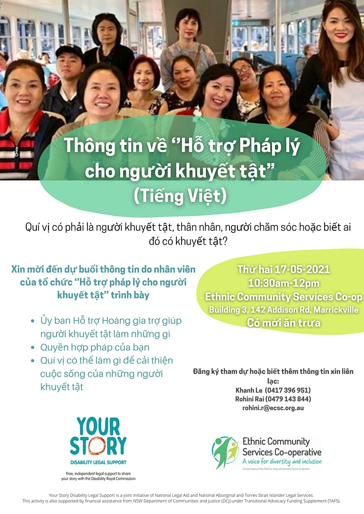 Disability Royal Commission Information Session (Vietnamese) image
