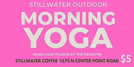 Outdoor Morning Yoga tickets
