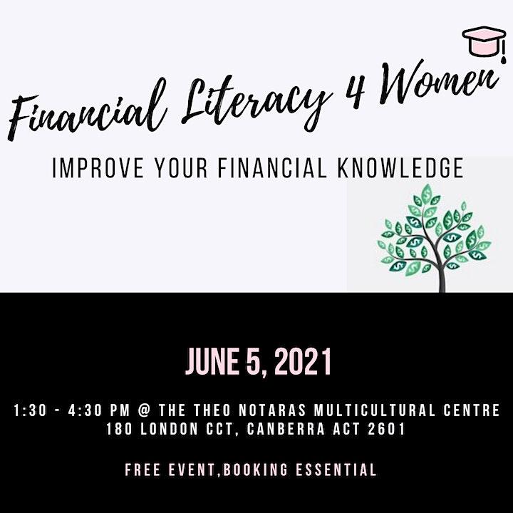 Finanancial Literacy 4 Women image