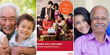 Understanding Australia's Parent Visa Programme tickets