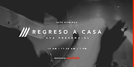 Presencial Iglesia AVA | 10:00 am tickets