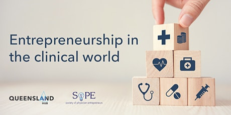 Entrepreneurship in the clinical world tickets