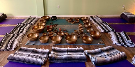 Sound Healing Ceremony - Himalayan Singing Bowls & Gong (In Person) tickets