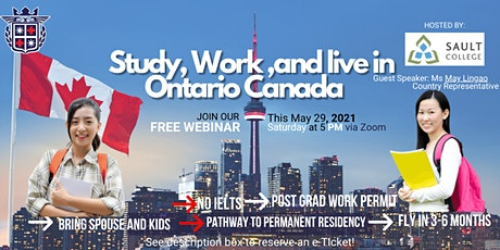 FIL-GLOBAL IMMIGRATION SERVICES CORP. in partnership with SAULT COLLEGE tickets