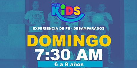 Experiencia de Fe Kids 7:30am boletos
