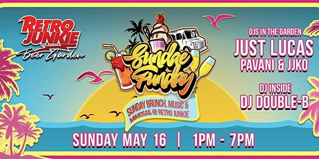 Sundae Funday  with LIVE Djs, Brunch, & Mimosas at Retro Junkie @ 1PM tickets