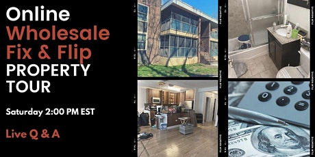 BK NY Online Wholesale/Flip Property Tour tickets
