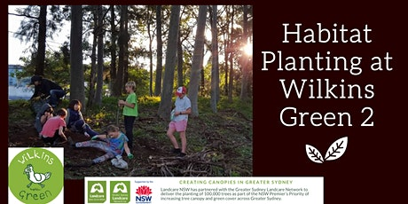 Wilkins Green Habitat Planting - Stage 2 tickets