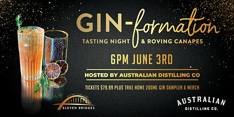 Gin-Formation with Australian Distilling Co! tickets