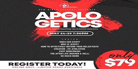 THE APOLOGETICS ONLINE EXPERIENCE tickets