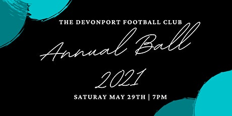 Devonport Football Club Ball 2021 tickets