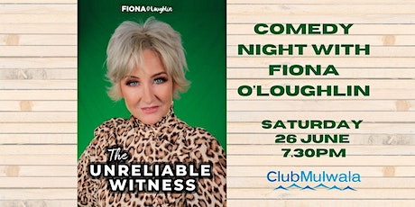 Fiona O'Loughlin - The Unreliable Witness tickets