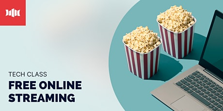 Tech Class: Free Online Streaming - Nowra Library tickets