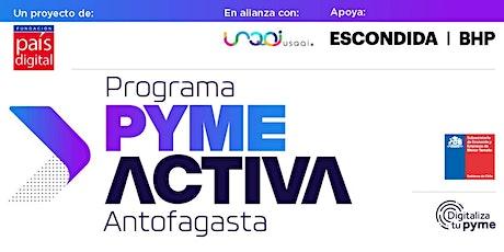 Programa Pyme Activa Antofagasta boletos