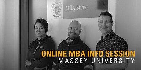 Online MBA information session tickets
