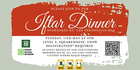 Iftar Dinner at ISOC by KPII  - 11th May tickets