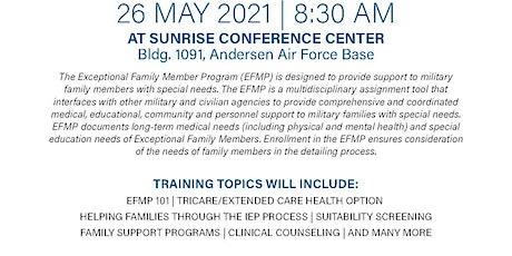 Joint Region Marianas EFMP Training tickets