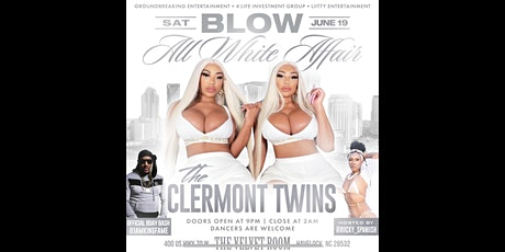 Clermont Twins All White Affair tickets