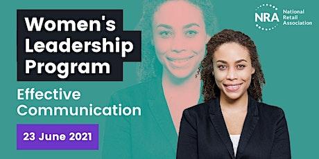 Women's Leadership Program: Effective Communication tickets