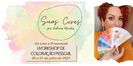 Suas Cores - Workshop de Coloração Pessoal - On Line e Presencial ingressos