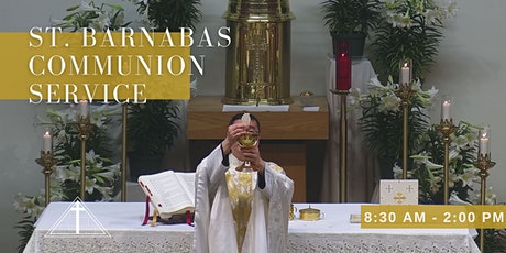St. Barnabas Communion Service  - Ascension of the Lord (Last Names D-J) tickets