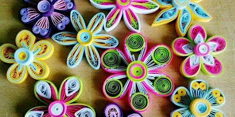 Inglewood Crafternoons- Paper Quilling tickets