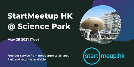 Free bus services for StartMeetupHK @ Science Park tickets