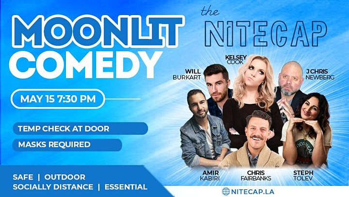 Moonlit: Comedy Outdoors image