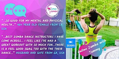 Online Zumba x 4 Class Package for Jul (Sun) - 60min. tickets