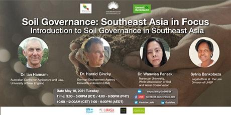 Soils Governance: Southeast Asia in Focus tickets