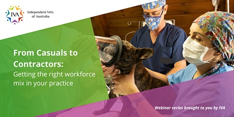 From Casuals to Contractors: Getting the Right Mix in Your Vet Practice tickets