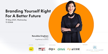 Branding Yourself Right For A Better Future tickets
