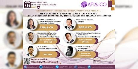 Webinar Memulai Bisnis Desain Grafis dan Film Animasi tickets